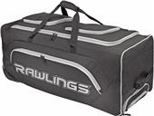 Rawlings Baseball Softball Wheeled Catchers Bag