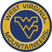 Fan Mats West Virginia University Roundel Mat