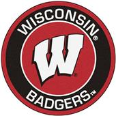 Fan Mats University of Wisconsin Roundel Mat