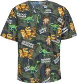 Cherokee Disney The Good Dinosaur Unisex Scrub Top