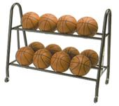 Tandem Sport Ultimate Basketball Ball Rack