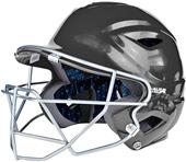 ALL-STAR System Seven Batting Helmet/Cage Combo