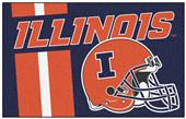 Fan Mats University of Illinois Starter Mat