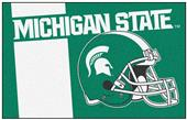 Fan Mats Michigan State University Starter Mat
