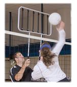 Tandem Sport Volleyball Bungee Blocker Team Drills