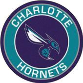 Fan Mats NBA Charlotte Hornets Roundel Mat