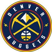 Fan Mats NBA Denver Nuggets Roundel Mat