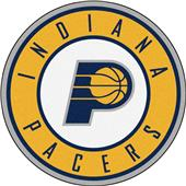 Fan Mats NBA Indiana Pacers Roundel Mat