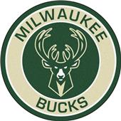 Fan Mats NBA Milwaukee Bucks Roundel Mat