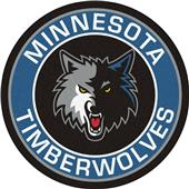 Fan Mats NBA Minnesota Timberwolves Roundel Mat