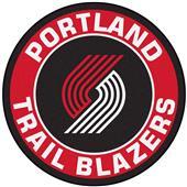 Fan Mats NBA Portland Trail Blazers Roundel Mat