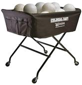 Tandem Volleyball Colossal Cart Holds 40 Balls