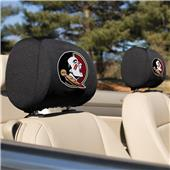 Collegiate Florida State Headrest Covers Set of 2