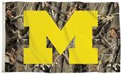 Collegiate Michigan Realtree Camo 3' x 5' Flag