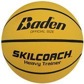 Baden SKILCOACH Heavy Trainer Yellow Basketballs