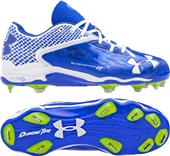 Under Armour Mens Deception Low Baseball Cleats