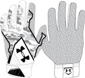 Under Armour Yard Undeniable Batting Gloves