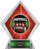 Awards Patriot Football Red Diamond Ice Trophy