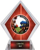 Awards PR1 Football Red Diamond Ice Trophy