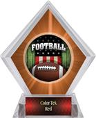 Awards Patriot Football Orange Diamond Ice Trophy