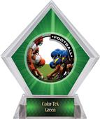 Awards PR1 Football Green Diamond Ice Trophy