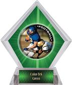Awards PR2 Football Green Diamond Ice Trophy