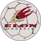 Fan Mats Elon University Soccer Ball Mat