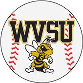 Fan Mats West Virginia State Univ Baseball Mat