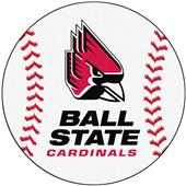 Fan Mats Ball State University Baseball Mat