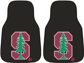 Fan Mats Stanford University Carpet Car Mats (set)