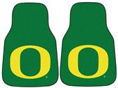 Fan Mats Univ. of Oregon Carpet Car Mats (set)