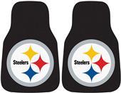 Fan Mats Pittsburgh Steeler Carpet Car Mats (set)