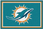 Fan Mats NFL Miami Dolphins 5x8 Rug