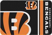Northwest NFL Bengals Round Edge Bath Rug