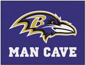 Fan Mats Baltimore Ravens Man Cave All-Star Mat