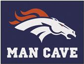 Fan Mats NFL Denver Broncos Man Cave All-Star Mat