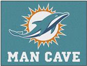 Fan Mats NFL Miami Dolphins Man Cave All-Star Mat