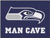 Fan Mats NFL Seattle Seahawk Man Cave All-Star Mat