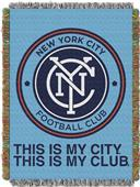 Northwest MLS NY City FC Handmade Tapestry Throw