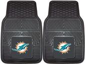 Fan Mats NFL Miami Dolphins Vinyl Car Mats (set)