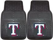 Fan Mats MLB Texas Rangers Vinyl Car Mats (set)
