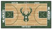 Fan Mats Milwaukee Bucks Large NBA Court Runners