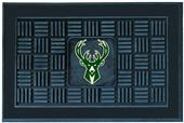 Fan Mats NBA Milwaukee Bucks Medallion Door Mat