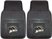 Fan Mats Western Michigan Univ Car Mats (set)