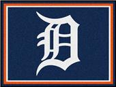 Fan Mats MLB Detroit Tigers 8x10 Rug