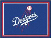Fan Mats MLB Los Angeles Dodgers 8x10 Rug