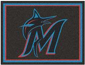 Fan Mats MLB Miami Marlins 8x10 Rug