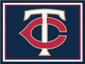 Fan Mats MLB Minnesota Twins 8x10 Rug