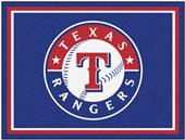 Fan Mats MLB Texas Rangers 8x10 Rug