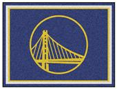 Fan Mats NBA Golden State Warriors 8x10 Rug